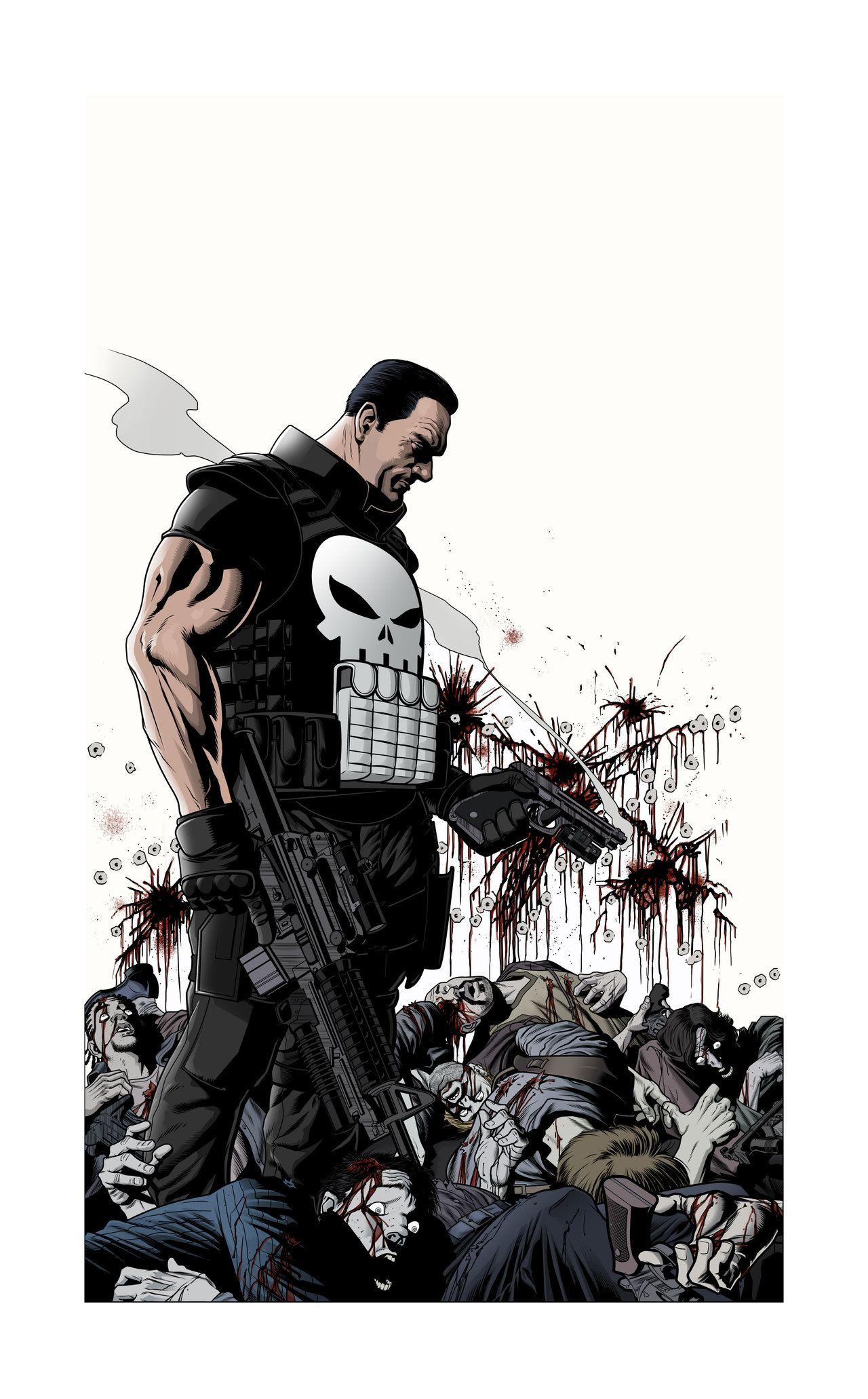 Pin de Harold Espinosa en The Punisher Cómics