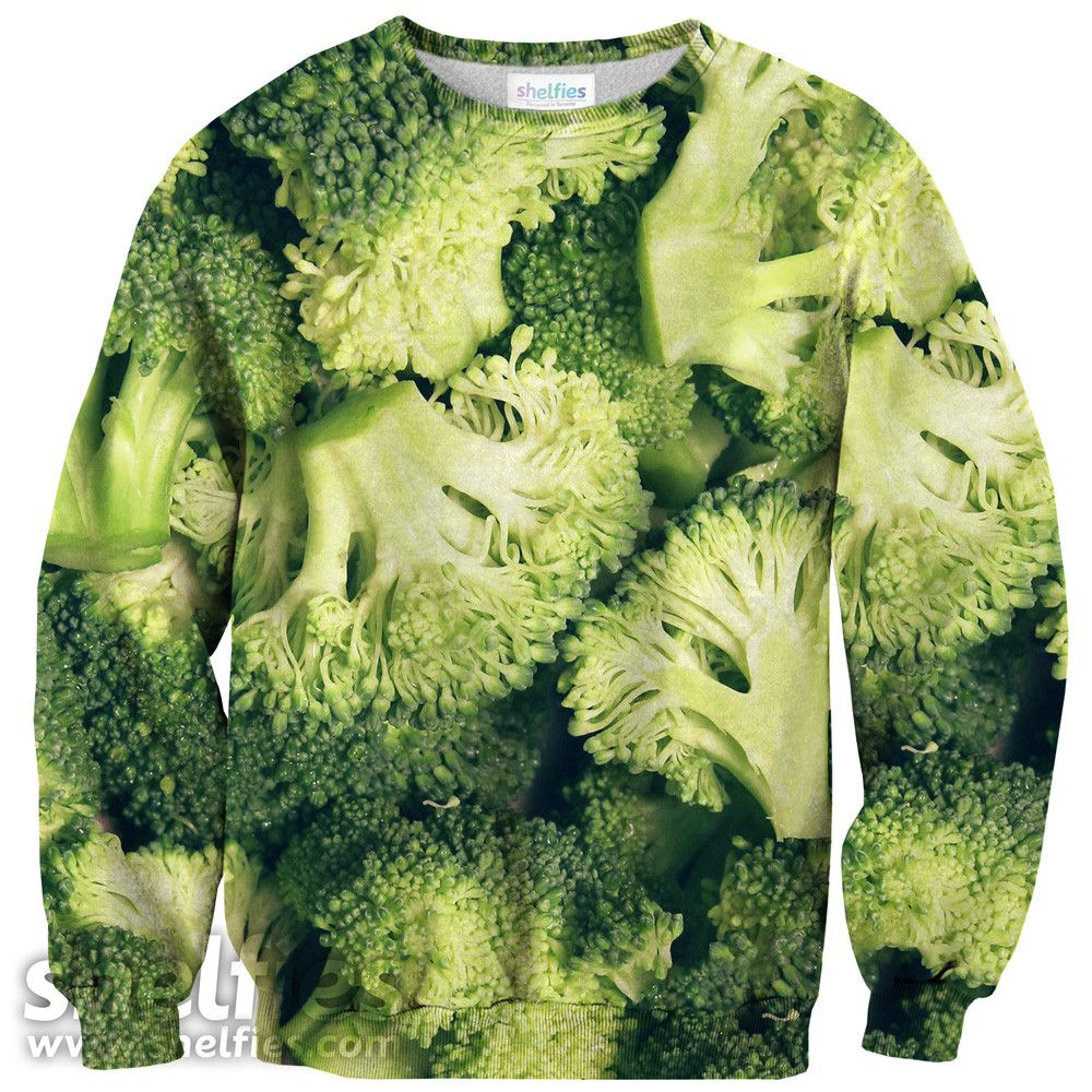 Broccoli sweater.... ehmmm... no diré más :P