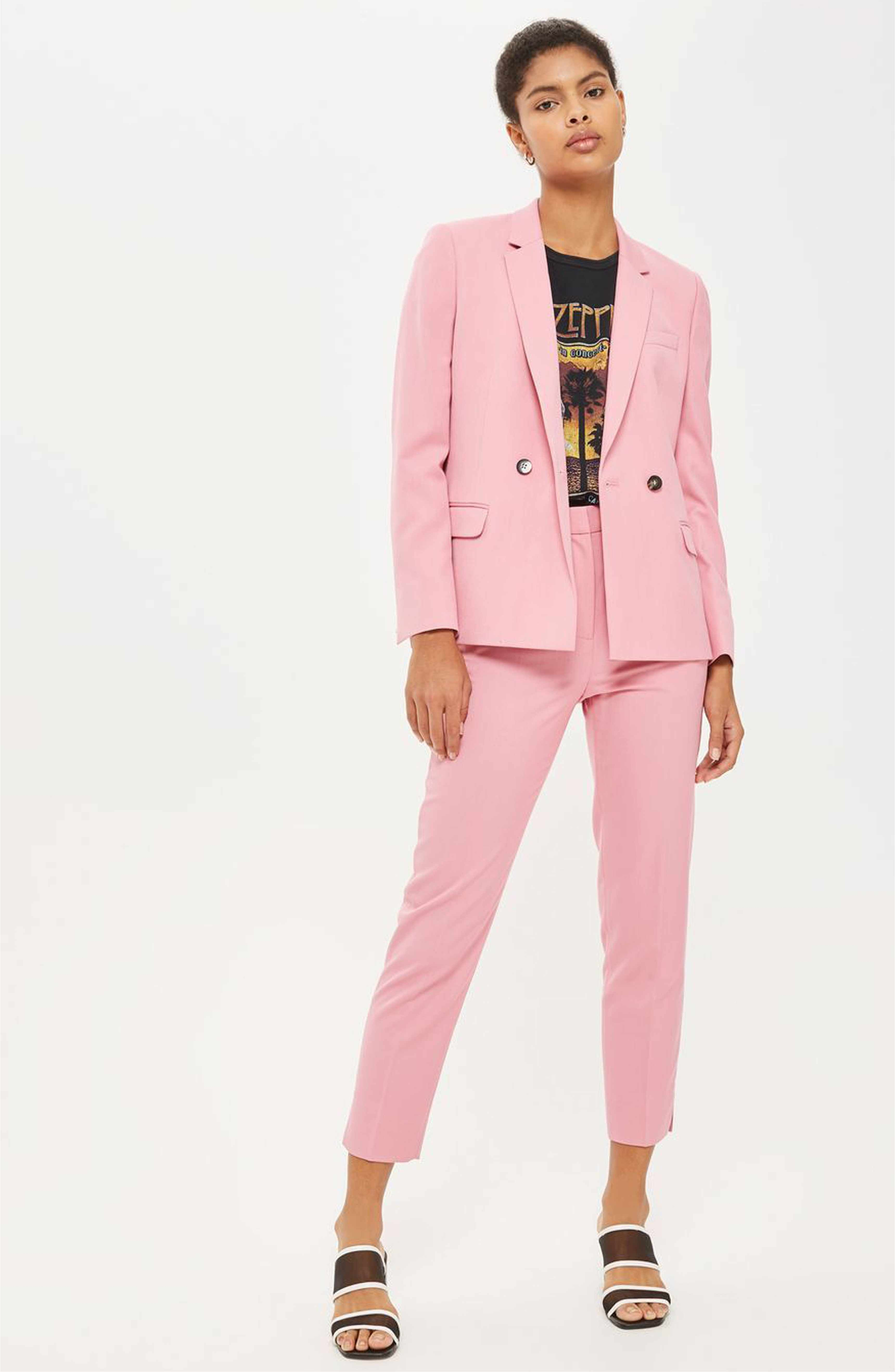 d8306593c588 Main Image - Topshop Double Breasted Suit Jacket | fashion | Jackets ...
