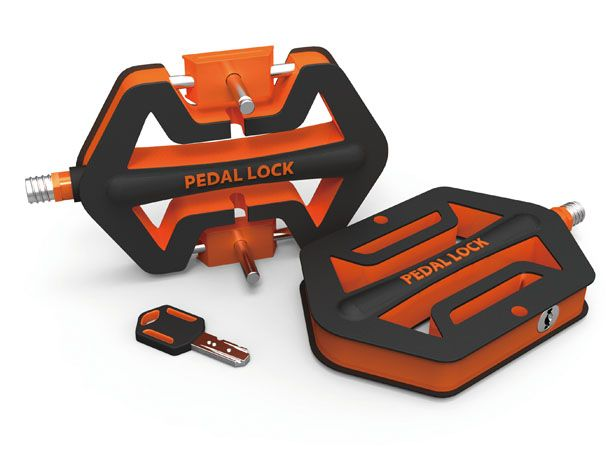 Pedal Lock Bicycle Locking System by Feng Cheng-Tsung and Cheng Yu-Ting