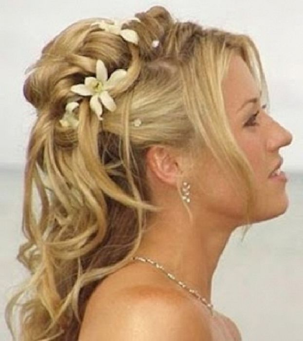 Astounding Wedding Styles With Bangs Google Search Wedding Hairs Hairstyles For Women Draintrainus