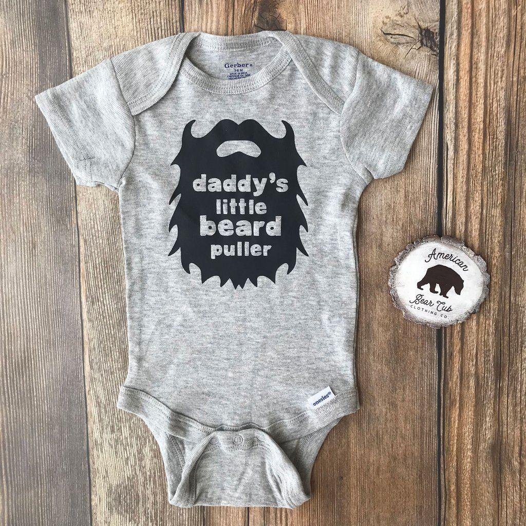 1c005d34b Daddy's Little Beard Puller Onesies® & Shirts | Olivia's Closet ...