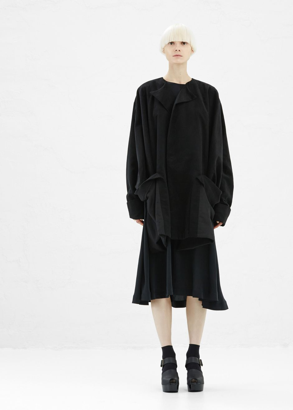 Boessert Schorn Pocket Coat (Black)