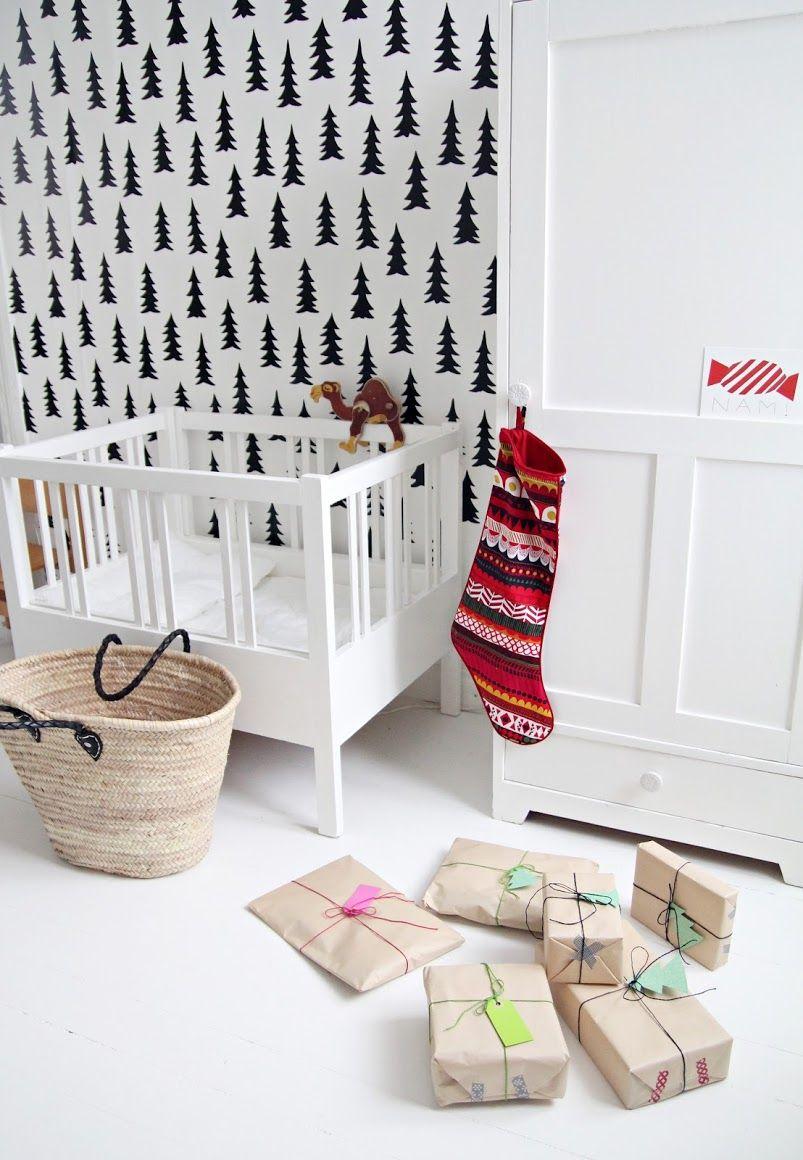Christmas in kid's room / świąteczne akcenty w pokoju dziecka
