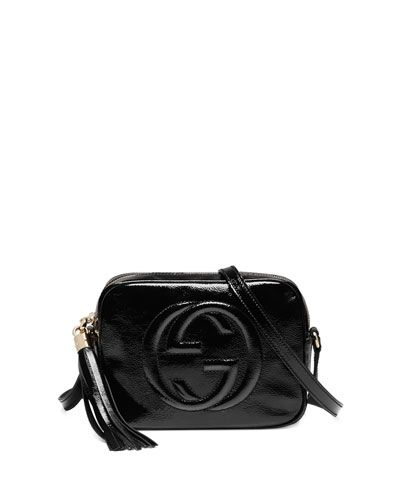 050d5e12bacc Soho Patent Leather Disco Bag Black | Accessories | Gucci soho disco ...