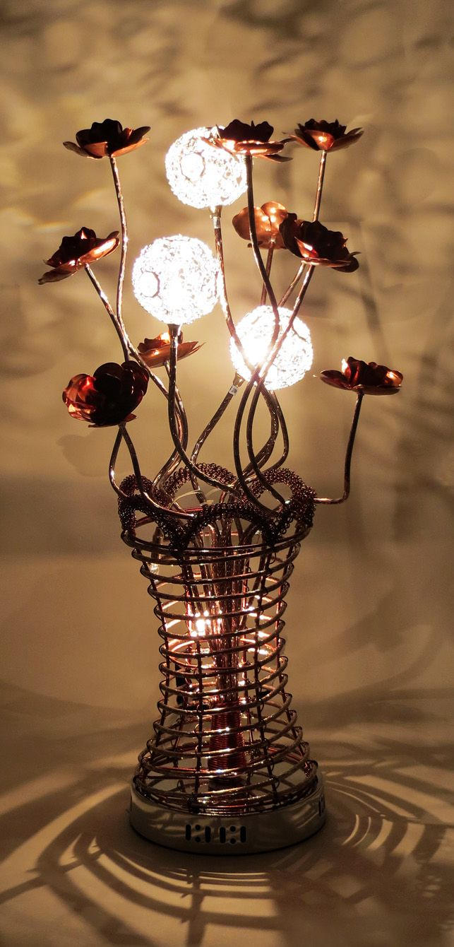 Httpwirelampswlt3101 5coffeeml 80cm woven wire httpwirelampswlt3101 5coffee coffee flowerbloom coffeewire tabletable lampsvaseflower greentooth Choice Image