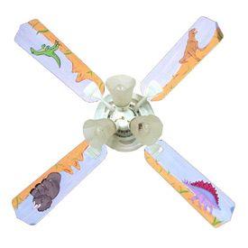 Ceiling Fan Maybe Dinosaur Decor White Ceiling Fan Ceiling Fan
