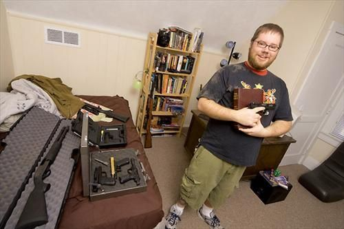 Armed America Portraits Of Gun Owners In Their Homes A Book By Kyle