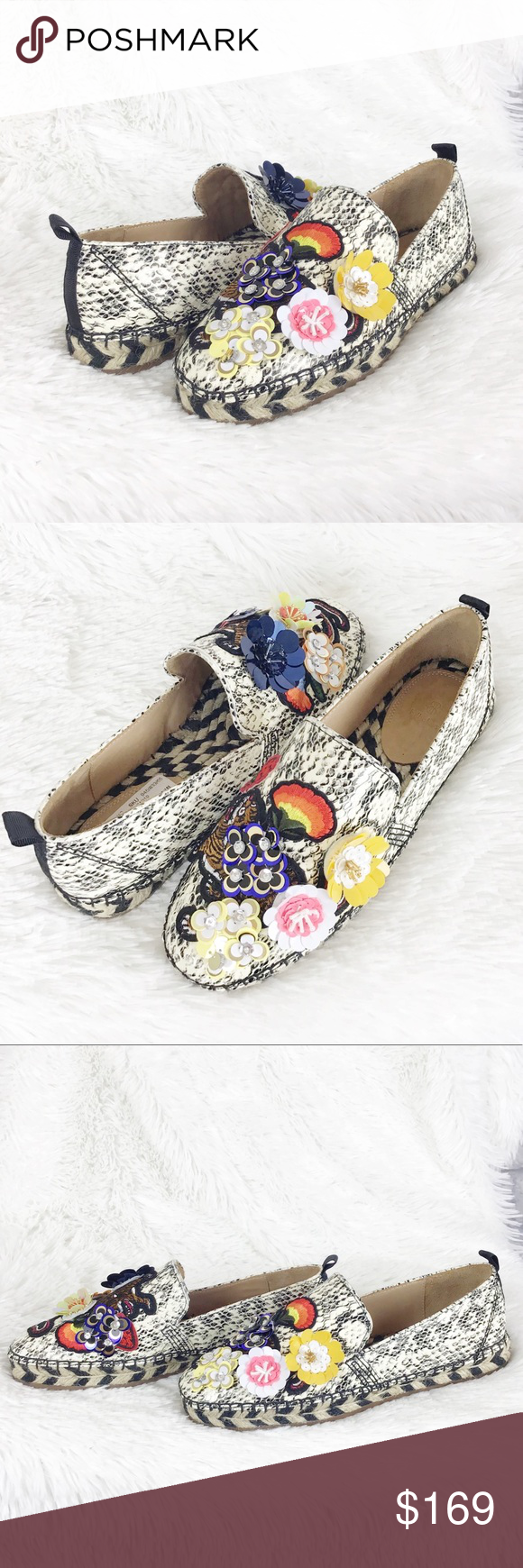ee6f3f6cec0 NWT Anthropologie Bill Blass Sutton espadrille 7 New with department store  tags