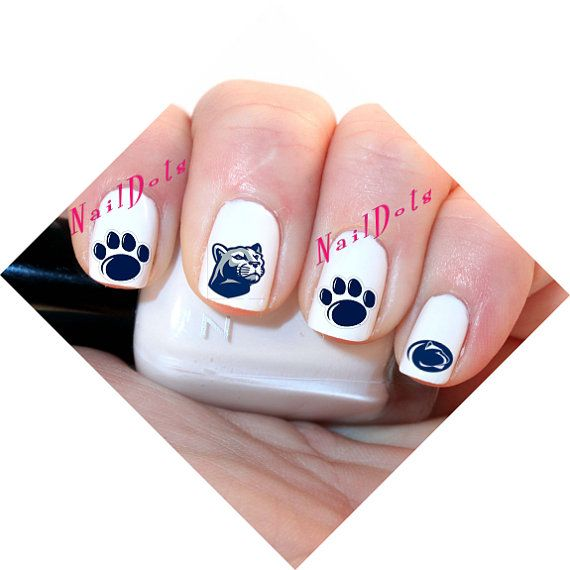40 Penn State Nittany Lion - Nail Art Waterslide Nail Decals on Etsy ...