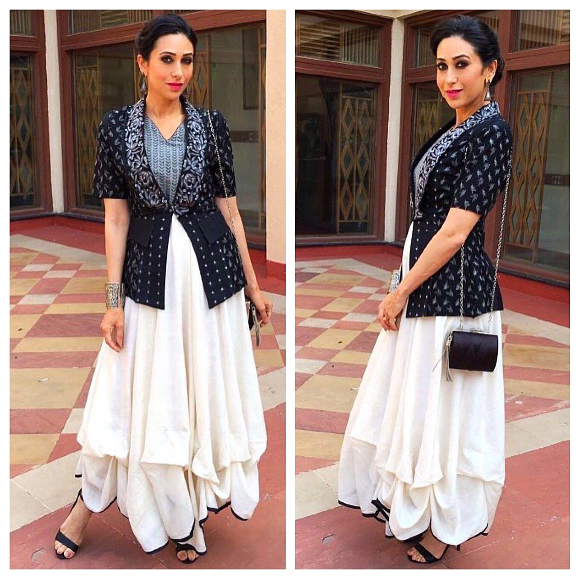 3f746ce7fdcb Style File  Karisma Kapoor in Shruti Sancheti. – The Film   Fashion Journal.