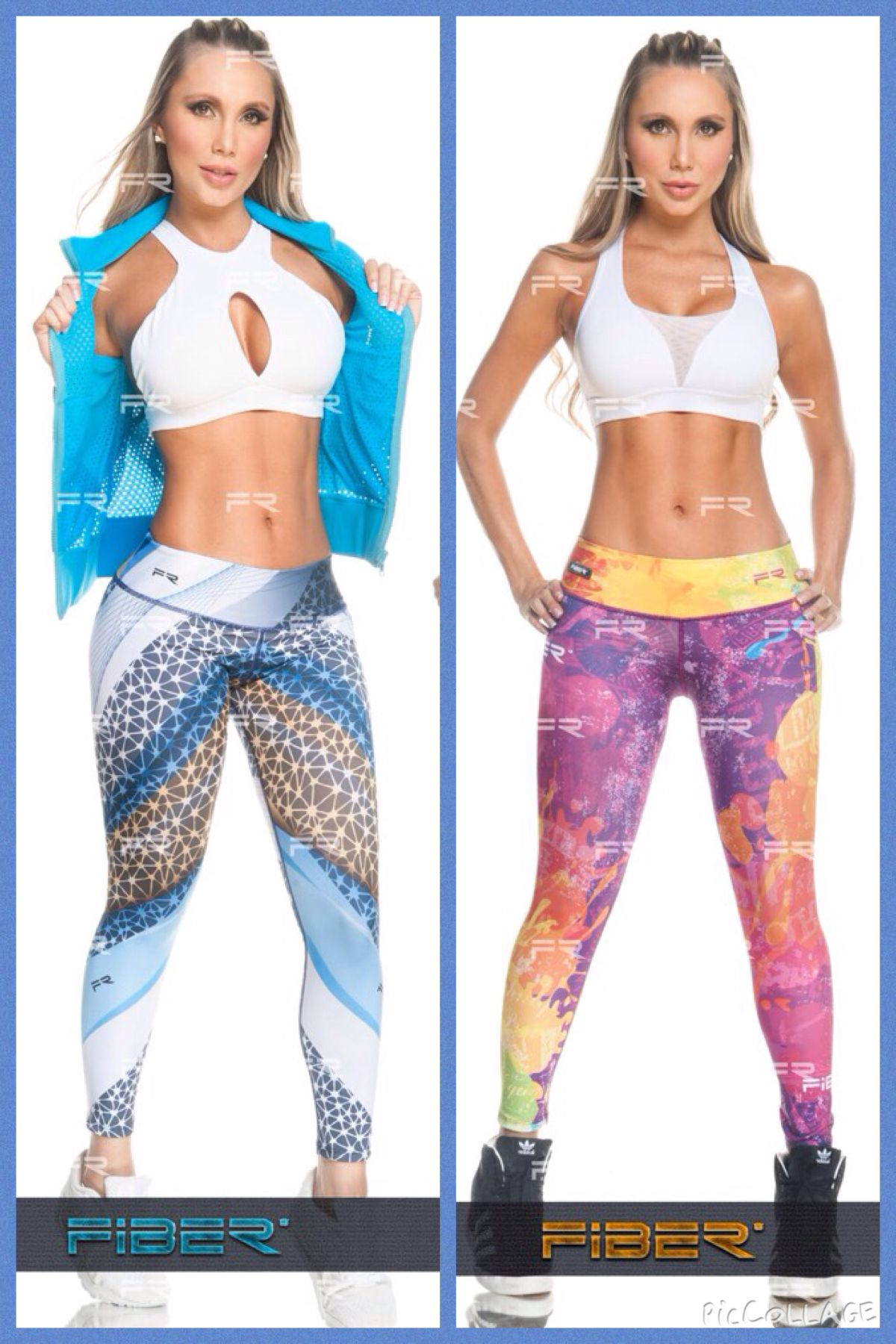 76d81bacf4c05 Fiber Colombian Printed Leggings for women. Compression Tights Dry fit  product for running and workout Follow IG @activewearfashion or ...