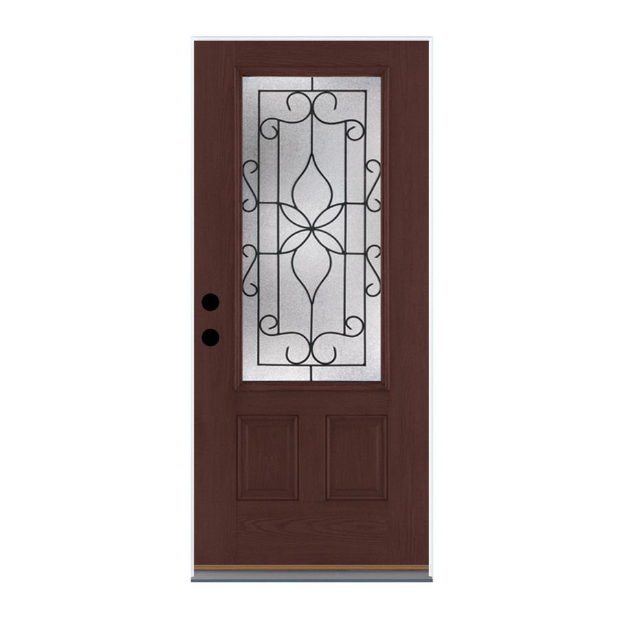 Therma Tru Benchmark Doors Florentino 2 Panel Insulating Core 34