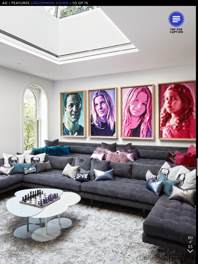 tv room   home interior ideas   moveis, decoração de casa, cinema em