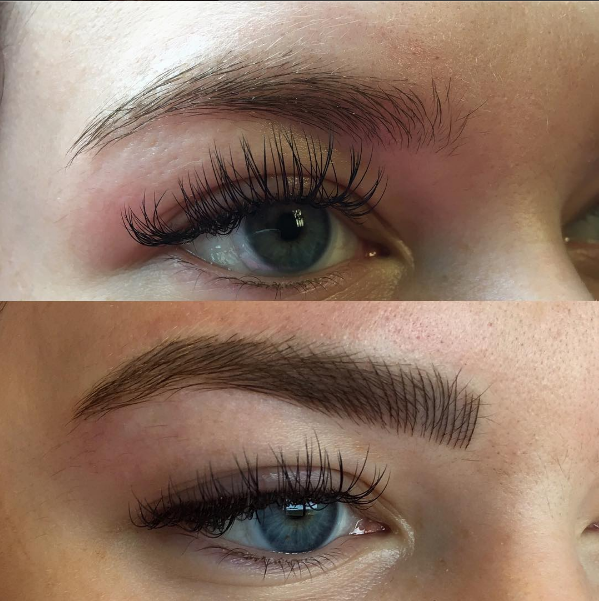 Microblading for perfecting your brow shape. Permanent