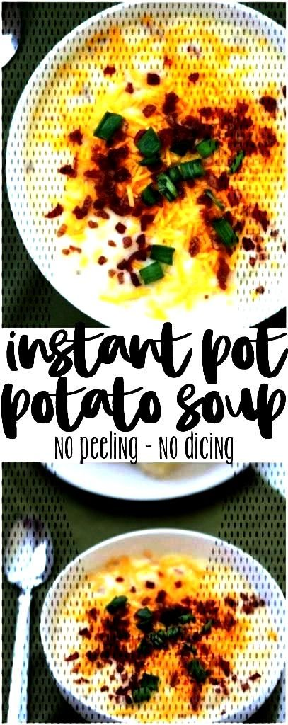 Pot Potato Soup - Three Little Ferns - Family Lifestyle BlogYou can find Easy instant pot recipes a