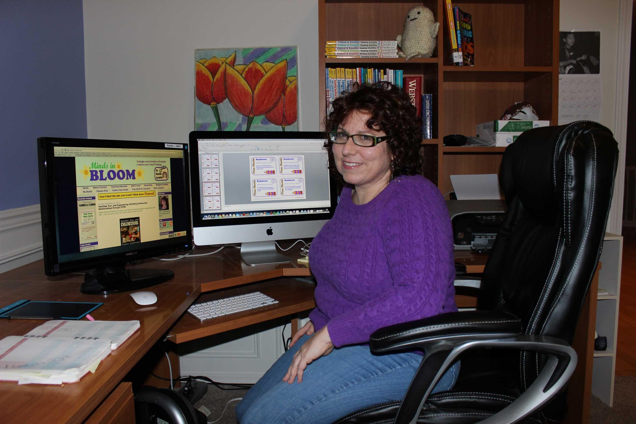5 Questions With Teacher Author Rachel Lynette