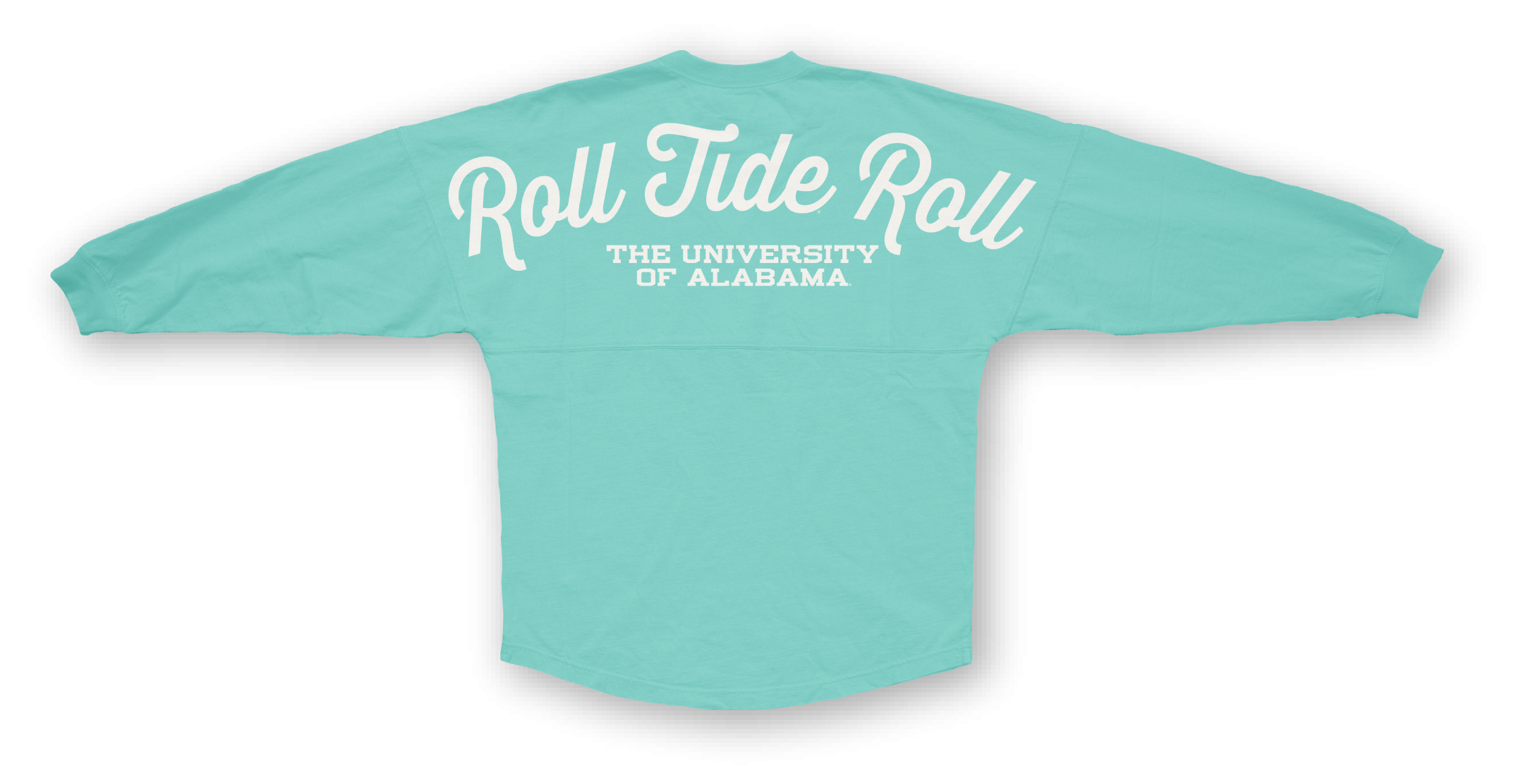 This is our famous spirit jersey. The shirt is made of 100% cotton. Remember the spirit jerseys fit very large. Keep this in mind while making your selections.  $29.99