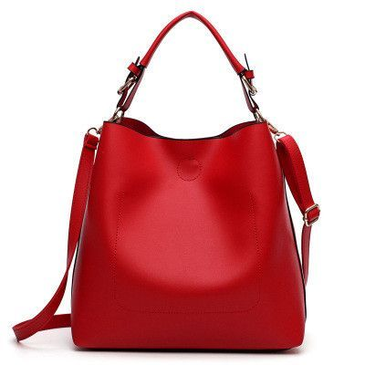 e8683f545d New Large Capacity Women Bag Fashion Pu Leather Shoulder Bag Casual Tote Bag  Designer Female Bucket Handbags Composite Bag - Fatekey