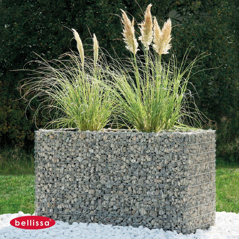 Gabione Hochbeet 1200 X 0750 X 1000 Mm Premium In 2020 Hochbeet Garten Garten Bepflanzen