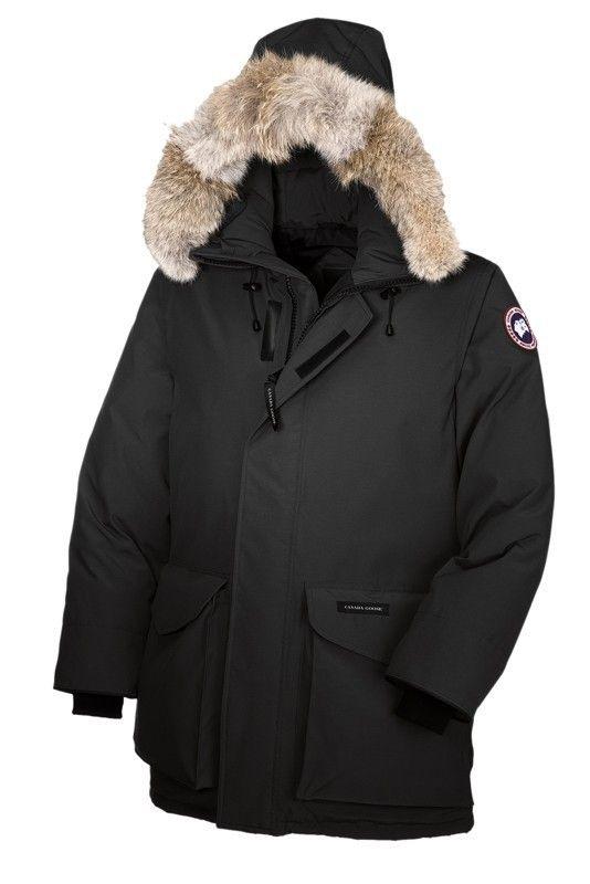 pretty nice 09766 6aee1 Canada Goose Calgary Spirit Nero Uomo Parka   clothes ...