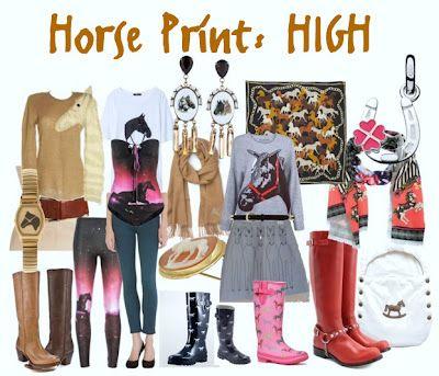 Horse prints above $ 50, under $ 400