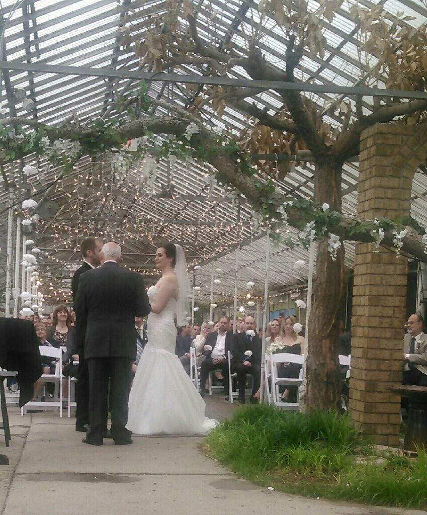 Beautiful Wedding Ceremony In The Landscape House