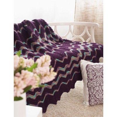 Ripple Afghan - Patterns | Yarnspirations | Crochet | Pinterest