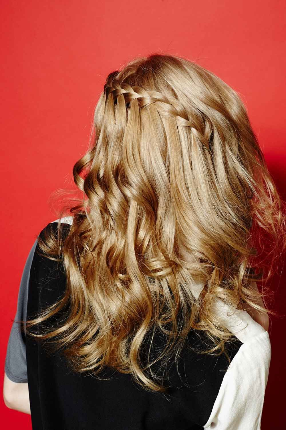 Curling Iron Hairstyles Curly Hairstyle Guide Braiding Guides