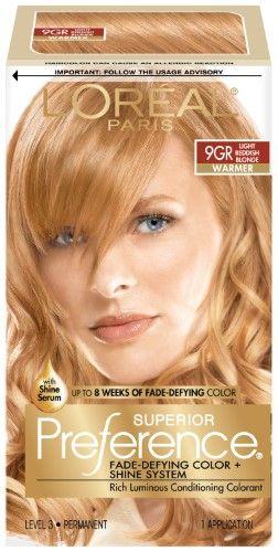 L Oreal Paris Superior Preference Fade Defying Color Shine