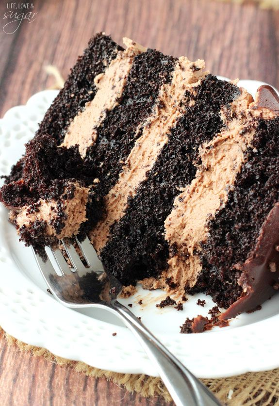 Nutella Chocolate Cake - Life Love and Sugar