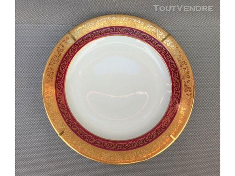 Ancienne assiette murale porcelaine limoges p pastaud for Faience murale ancienne