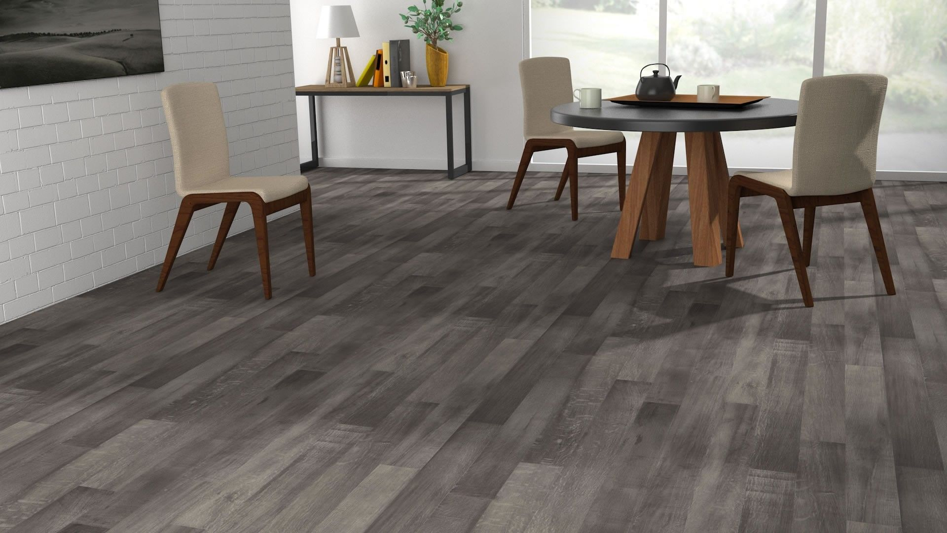 sol vinyle imitation parquet gris luna lub ron vinyl pinterest. Black Bedroom Furniture Sets. Home Design Ideas