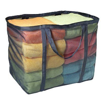 """Laundry Micro Mesh Tote Bag Color: Navy (19""""x12""""x16"""""""
