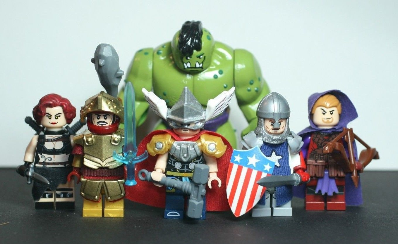 how to get the town characters in lego superhero marvel