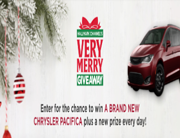 Savannah Street Sweeper Christmas 2020 Hallmark Channel's Very Merry Giveaway – Win a 2020 Chrysler