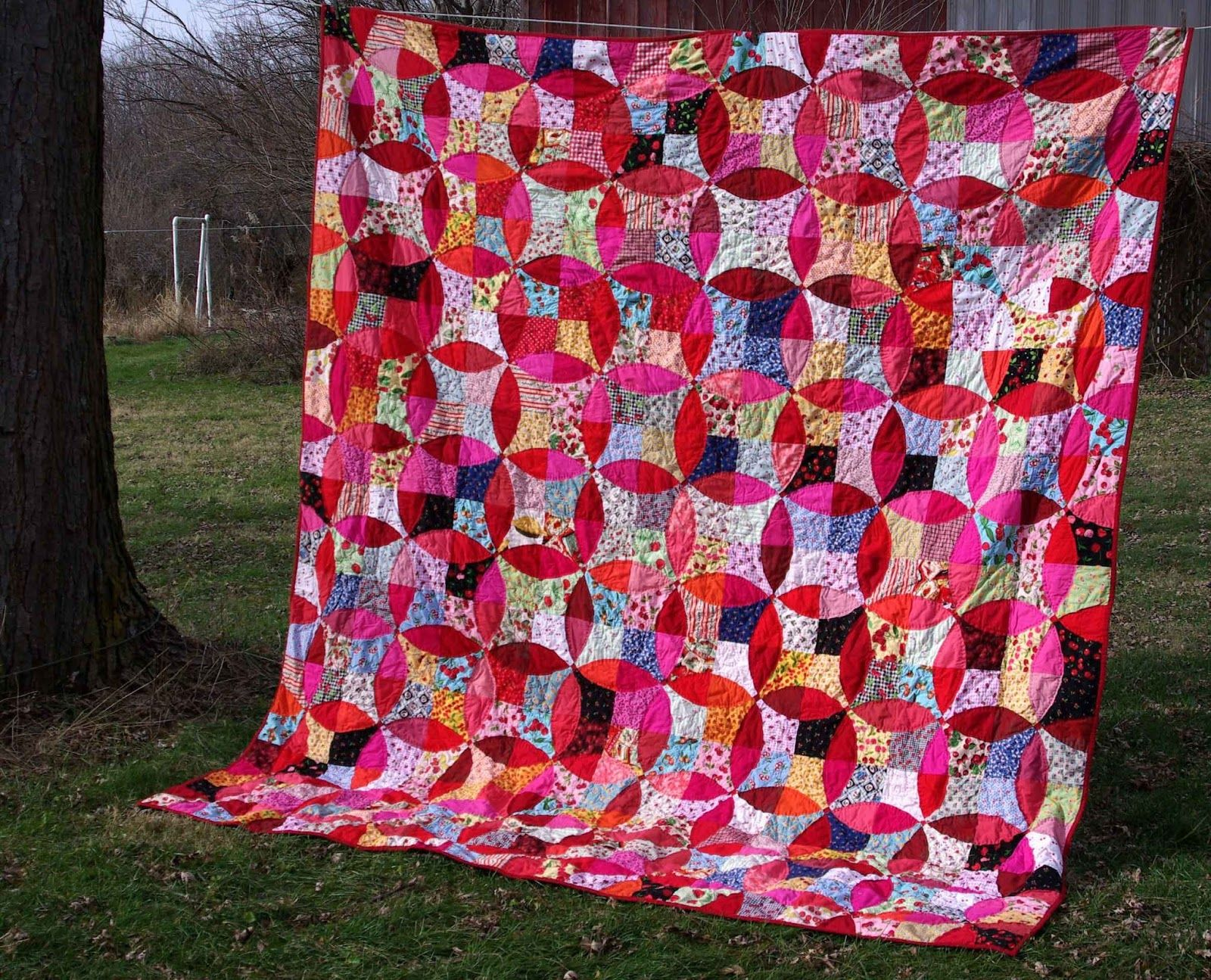 Sane, Crazy, Crumby Quilting: I Finished Off The Cherry Pie ...