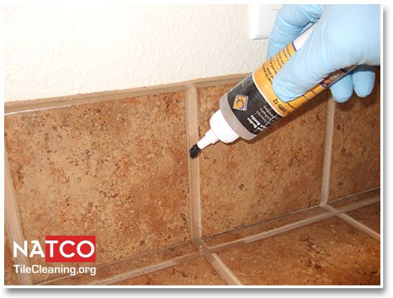 Sealing grout with sealer, not membrane
