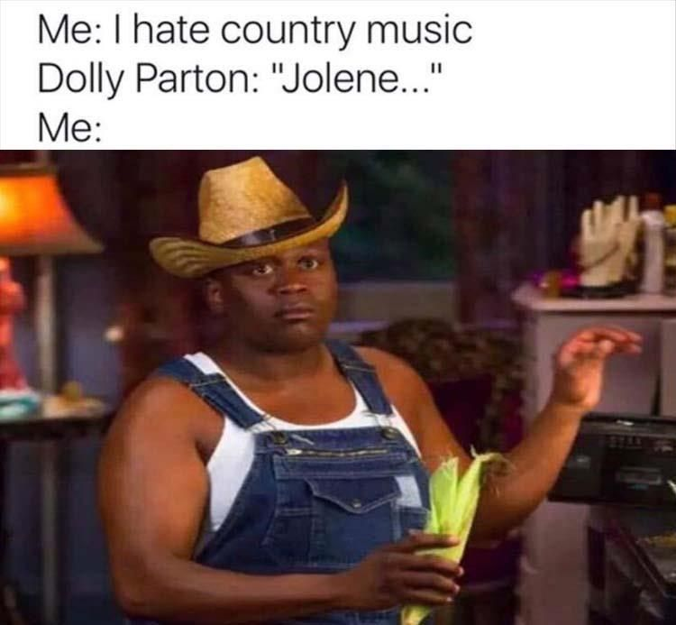 84 Funny Memes To Help You Scroll Your Way To Happiness Music Memes Funny Relatable Memes Country Memes