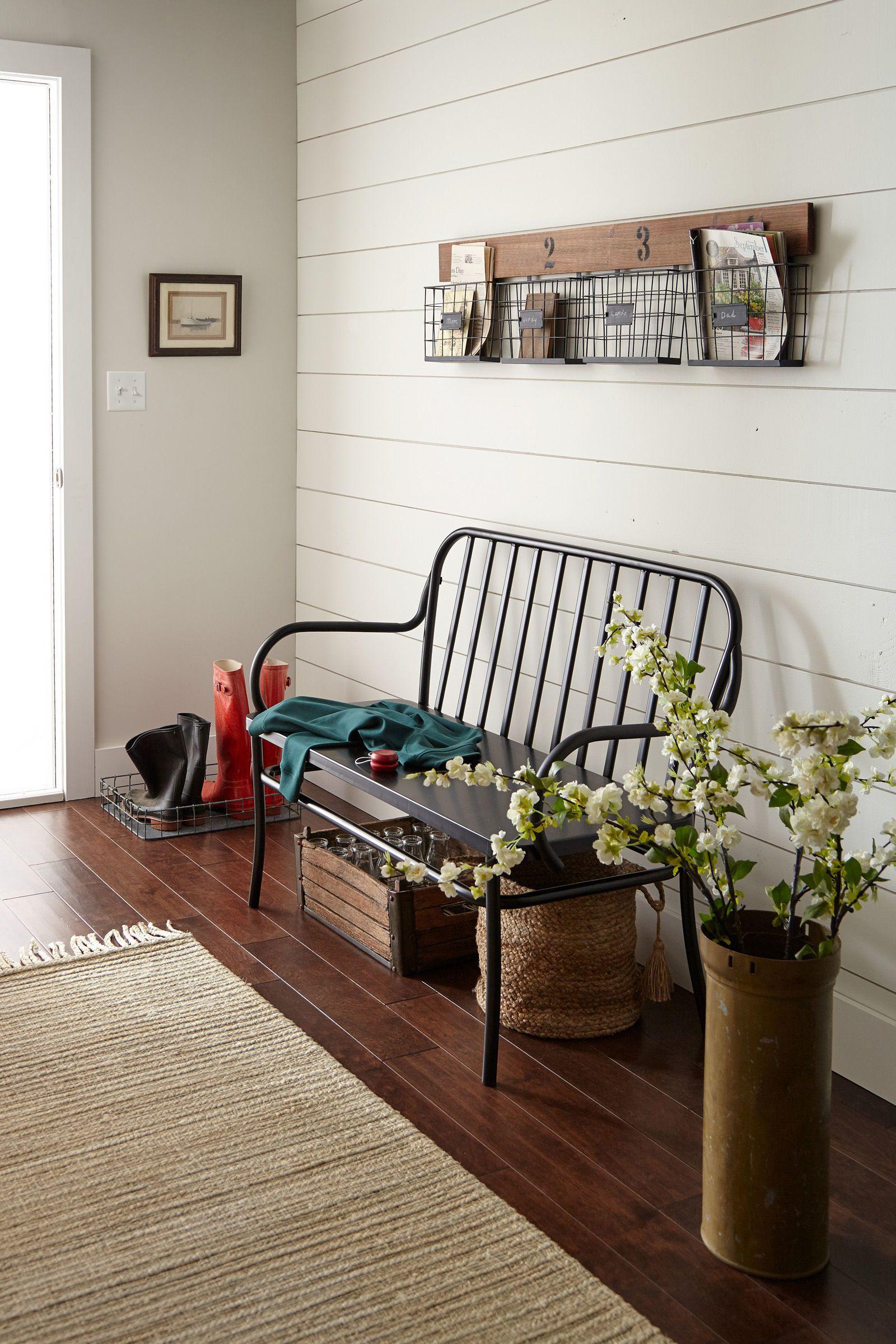 Joanna gaines hallway decor  Joanna Gaines Reveals Her  Favorite Paint Colors  Room Shiplap