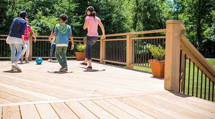 Pressure Treated Decking Decking Boards And Decking Accessories