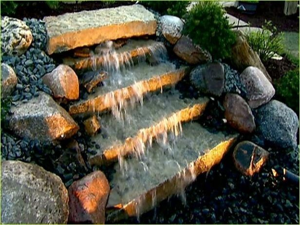 40+ Stunning DIY Fire and Water Fountain Ideas #fountaindiy