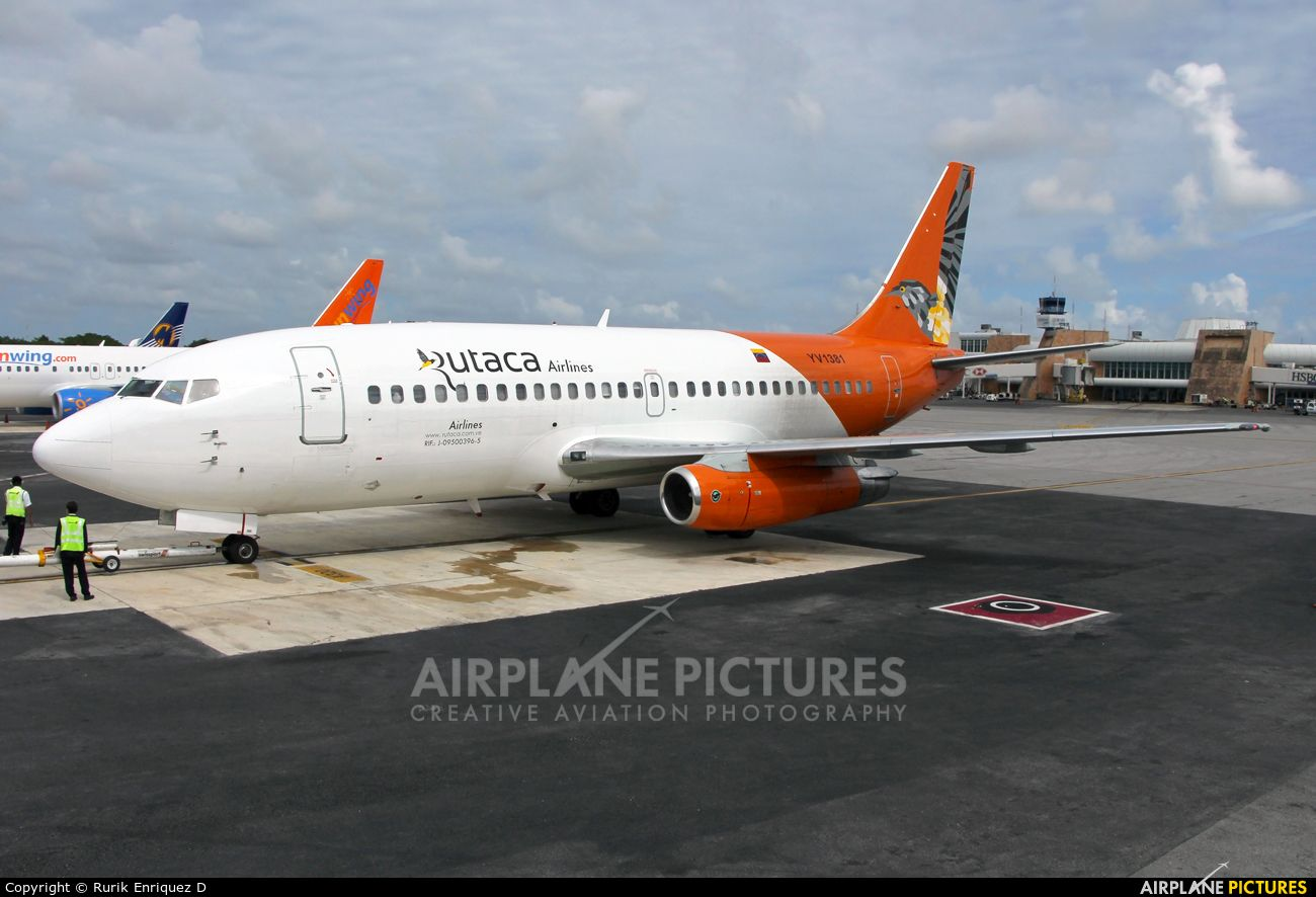 Rutaca Airlines YV1381 aircraft at Cancun Int photo
