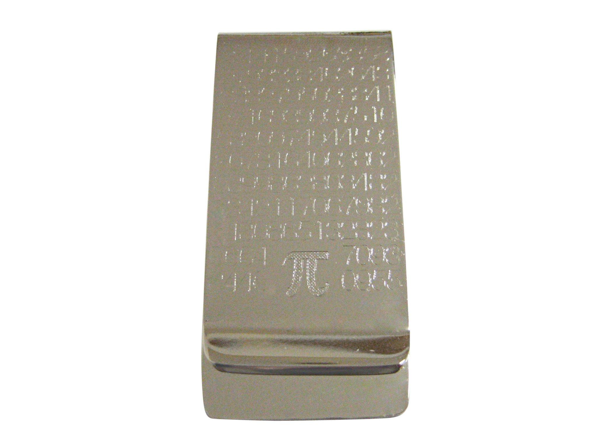 Money Clips Kiola Designs-mathematical Pi Symbol Money Clip Silver