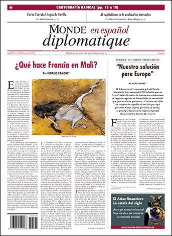 LE MONDE DIPLOMATIQUE   nº 208 (Febreiro 2013)