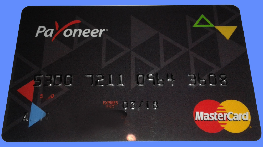Payoneer Card Activation Activate Payoneer Card Activities