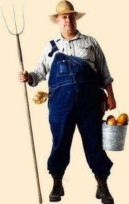 Not every farmer wears an overall.