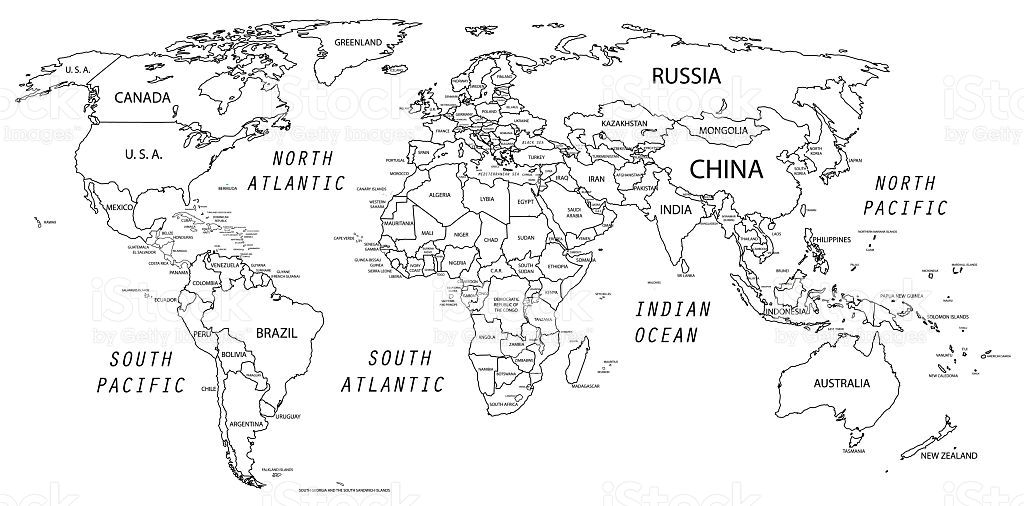 The world map was traced and simplified in Adobe