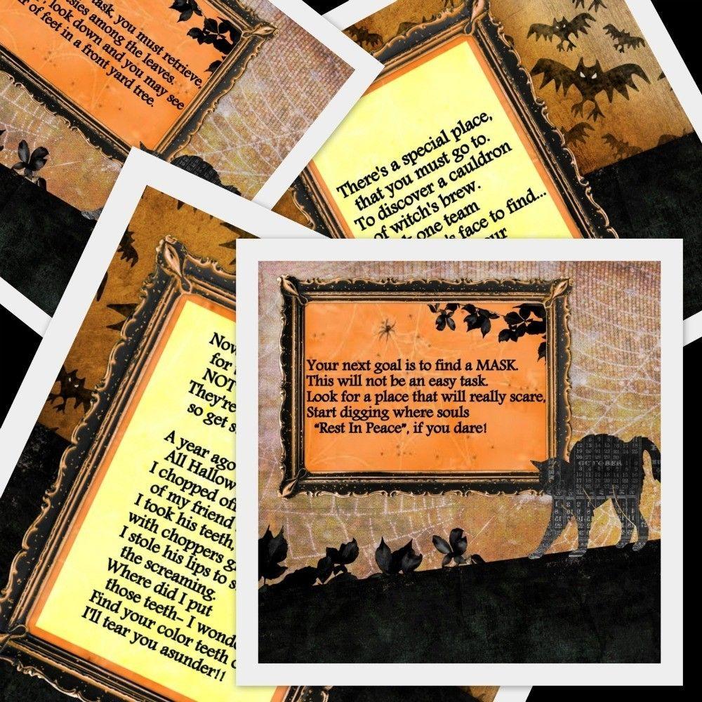 Halloween Game PRINTABLE Halloween Scavenger Hunt 11