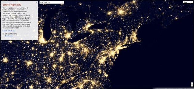 The earth at night with google maps sources nasa techtxr the earth at night with google maps sources nasa gumiabroncs Images